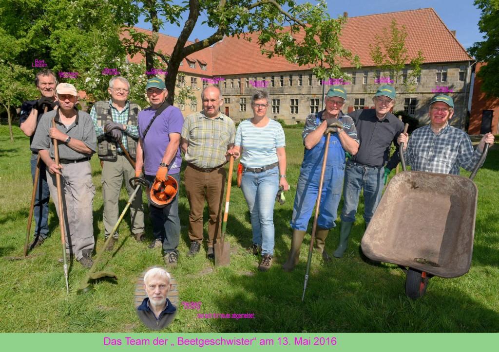 Beetbrüder bei der Arbeit Kloster Frenswegen